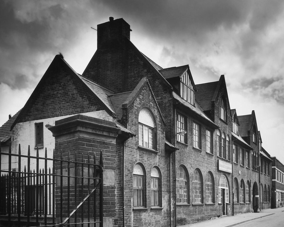 Westley-Richards-BuildingB&W